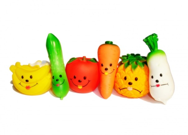 smiling veggies